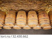 Купить «Regina Viarum Winery, Ribeira Sacra, Heroic Viticulture, Sil river canyon, Sober, Lugo, Galicia, Spain», фото № 32430662, снято 23 мая 2019 г. (c) age Fotostock / Фотобанк Лори