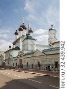 Купить «Кирилло-Афанасьевский монастырь, Ярославль», фото № 32439942, снято 13 мая 2019 г. (c) Юлия Бабкина / Фотобанк Лори