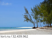 Купить «Zanzibar scenery, Tanzania, Africa. Kendwa», фото № 32439962, снято 4 октября 2019 г. (c) Знаменский Олег / Фотобанк Лори