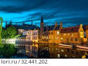 Belgium, Brugge, West Flanders, Europe (2019 год). Стоковое фото, фотограф Tryapitsyn Sergiy / Фотобанк Лори
