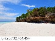 Купить «Kendwa beach, Zanzibar, Tanzania, Africa», фото № 32464454, снято 3 октября 2019 г. (c) Знаменский Олег / Фотобанк Лори