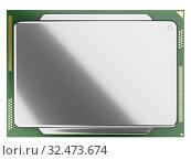 Купить «Processor board with heat distribution coveron.», иллюстрация № 32473674 (c) Маринченко Александр / Фотобанк Лори