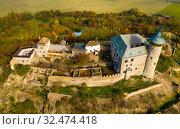 Купить «Kuneticka Hora Castle, Czech Republic», фото № 32474418, снято 18 октября 2019 г. (c) Яков Филимонов / Фотобанк Лори
