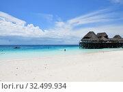 Купить «Zanzibar, Tanzania, Africa. Kendwa beach», фото № 32499934, снято 3 октября 2019 г. (c) Знаменский Олег / Фотобанк Лори