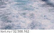 Купить «Stormy waves of the Mediterranean Sea after the Yacht in Monaco, Slowmotion», видеоролик № 32500162, снято 24 августа 2019 г. (c) Aleksejs Bergmanis / Фотобанк Лори