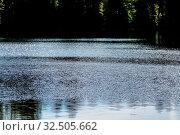 Wasseroberfläche im Sonnenschein, Symbol für Idylle, Natur, Kontemplation. Стоковое фото, фотограф Zoonar.com/Erwin Wodicka / age Fotostock / Фотобанк Лори