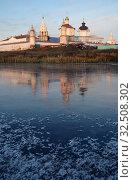Купить «Коломна, Бобреневский монастырь поздней осенью», фото № 32508302, снято 23 ноября 2019 г. (c) Natalya Sidorova / Фотобанк Лори