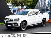 Купить «Mercedes-Benz X-class», фото № 32508834, снято 18 сентября 2019 г. (c) Art Konovalov / Фотобанк Лори