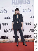 Cecilia Gessa attends 'Adios' premiere at Capitol Cinema on November 19, 2019 in Madrid, Spain. Редакционное фото, фотограф Manuel Cedron / age Fotostock / Фотобанк Лори