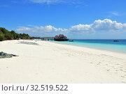 Купить «Zanzibar, Tanzania, Africa. Kendwa beach», фото № 32519522, снято 3 октября 2019 г. (c) Знаменский Олег / Фотобанк Лори