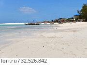 Купить «Zanzibar scenery, Tanzania, Africa. Kendwa», фото № 32526842, снято 4 октября 2019 г. (c) Знаменский Олег / Фотобанк Лори