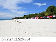 Купить «Zanzibar, Tanzania, Africa. Kendwa beach», фото № 32526854, снято 3 октября 2019 г. (c) Знаменский Олег / Фотобанк Лори