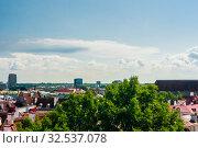 Historical old town of Tallinn, capital of Estonia. Стоковое фото, фотограф Николай Коржов / Фотобанк Лори