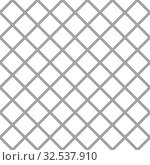 Купить «Metallic net monochromatic texture on white background. Isolated 3D illustration», иллюстрация № 32537910 (c) Ильин Сергей / Фотобанк Лори