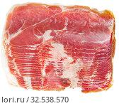 Купить «Ham cutting», фото № 32538570, снято 16 февраля 2020 г. (c) Яков Филимонов / Фотобанк Лори