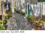 Alfama, Lisbon, Portugal, Europe. Стоковое фото, фотограф Joana Kruse / age Fotostock / Фотобанк Лори