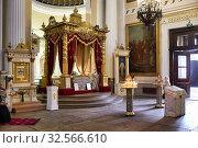 St. Petersburg Russia. Alexander Nevsky Lavra Monastery Church. Стоковое фото, фотограф Marco Brivio / age Fotostock / Фотобанк Лори