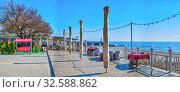 Купить «Langeron Beach in Odessa, Ukraine, at springtime», фото № 32588862, снято 23 апреля 2019 г. (c) Sergii Zarev / Фотобанк Лори