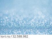 Купить «Blue bokeh light background», фото № 32588982, снято 23 января 2017 г. (c) Иван Михайлов / Фотобанк Лори