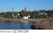Купить «Июль в Ханко. Финляндия», видеоролик № 32590638, снято 15 июля 2018 г. (c) Виктор Карасев / Фотобанк Лори