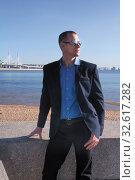 Мужчина - модель. Стоковое фото, фотограф Наталья Иванова / Фотобанк Лори