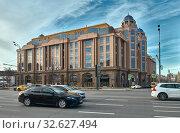 Novinsky Passage Shopping and Business Center (2019 год). Редакционное фото, фотограф Алексей Голованов / Фотобанк Лори
