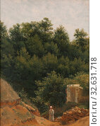 Купить «Attributed to PC Skovgaard, Landscape study, painting, 1840s, Oil on paper mounted on canvas, Oil on paper glued on canvas, Height, 48.5 cm (19 inches...», фото № 32631718, снято 5 июля 2019 г. (c) age Fotostock / Фотобанк Лори