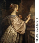Купить «David Beck, Queen Kristina, Queen Christina of Sweden (1626 - 1689), Queen Kristina (1626-1689), painting, portrait, Christina of Sweden, 1650, Oil on...», фото № 32633018, снято 16 июля 2019 г. (c) age Fotostock / Фотобанк Лори