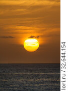A beautiful sunrise at dawn golden sky. Стоковое фото, фотограф Zoonar.com/christopher smith / easy Fotostock / Фотобанк Лори