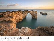 Arco de Albandeira, Lagoa, Algarve, Portugal, Europe. Стоковое фото, фотограф Joana Kruse / age Fotostock / Фотобанк Лори