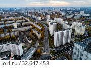 Москва, Северное Тушино, улица Туристская (2019 год). Стоковое фото, фотограф glokaya_kuzdra / Фотобанк Лори