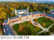 Neo-Gothic Sychrov Castle, Czech Republic. Стоковое фото, фотограф Яков Филимонов / Фотобанк Лори