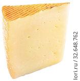 Купить «Semi-hard cheese», фото № 32648762, снято 27 февраля 2020 г. (c) Яков Филимонов / Фотобанк Лори