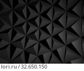 Купить «Abstract black digital pattern, background texture 3 d», иллюстрация № 32650150 (c) EugeneSergeev / Фотобанк Лори