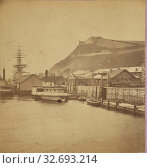 Citadel from the Harbor, Quebec., C.R. Chisholm & Co., 1870s, Albumen silver print (2019 год). Редакционное фото, фотограф ARTOKOLORO QUINT LOX LIMITED / age Fotostock / Фотобанк Лори