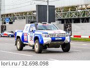 Купить «Volkswagen Amarok», фото № 32698098, снято 7 июля 2012 г. (c) Art Konovalov / Фотобанк Лори