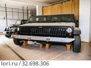 Купить «Jeep Wrangler», фото № 32698306, снято 25 сентября 2019 г. (c) Art Konovalov / Фотобанк Лори