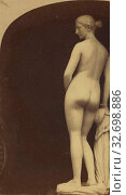 Купить «The Greek Slave. By Hiram Powers., London Stereoscopic Company (active 1854 - 1890), about 1860, Albumen silver print», фото № 32698886, снято 17 июня 2019 г. (c) age Fotostock / Фотобанк Лори