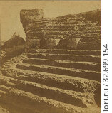 Ruines de Italica, Luis Leon Masson (Spanish, active about 1858 - 1874), 1860s, Albumen silver print (2019 год). Редакционное фото, фотограф ARTOKOLORO QUINT LOX LIMITED / age Fotostock / Фотобанк Лори