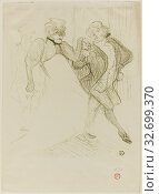 Купить «Réjane and Galipaux, in Madame Sans-Gêne, 1893, Henri de Toulouse-Lautrec, French, 1864-1901, France, Color lithograph on cream wove paper, 315 × 266 mm (image), 388 × 282 mm (sheet)», фото № 32699370, снято 27 мая 2020 г. (c) age Fotostock / Фотобанк Лори