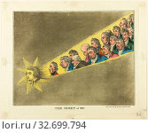 Купить «The Comet of 1811, 1811, Published by T. Moon, English, 19th century, England, Hand-colored etching on paper», фото № 32699794, снято 13 июля 2020 г. (c) age Fotostock / Фотобанк Лори