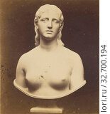 Купить «Eve Disconsolate. H(iram) Powers, Florence, Powers Frères, 1860s, Albumen silver print», фото № 32700194, снято 17 июня 2019 г. (c) age Fotostock / Фотобанк Лори
