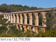 Pont de les Ferreres, Tarragona, Spain (2018 год). Стоковое фото, фотограф Яков Филимонов / Фотобанк Лори