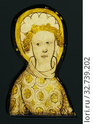 Купить «An Angel, Unknown maker, English, Midlands?, England, about 1420 - 1430, Colorless glass, vitreous paint, and silver stain, 14.9 x 9 x 1 cm (5 7/8 x 3 9/16 x 3/8 in.)», фото № 32739202, снято 17 июня 2019 г. (c) age Fotostock / Фотобанк Лори