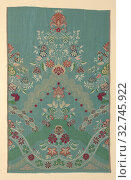 Купить «Panel, c. 1725, England, Silk, warp-faced, weft-ribbed plain weave with weft-float faced twill interlacings of secondary binding warps and supplementary...», фото № 32745922, снято 17 сентября 2019 г. (c) age Fotostock / Фотобанк Лори