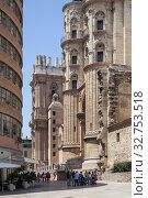 Cathedral Catedral de la Encarnacion in Malaga (2018 год). Редакционное фото, агентство Caro Photoagency / Фотобанк Лори