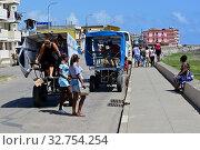 Купить «Cuba, Baracoa promenade in the city centre», фото № 32754254, снято 4 августа 2019 г. (c) Caro Photoagency / Фотобанк Лори