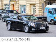 Cadillac CTS (2013 год). Редакционное фото, фотограф Art Konovalov / Фотобанк Лори