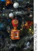 Купить «Рождественская елка Эрмитажа», фото № 32776462, снято 5 декабря 2019 г. (c) Владимир Ковальчук / Фотобанк Лори