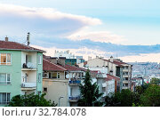 Travel to Turkey - Kizilay residential district in Ankara city in spring evening. Стоковое фото, фотограф Zoonar.com/Valery Voennyy / easy Fotostock / Фотобанк Лори
